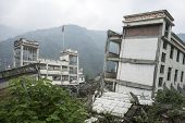 Damage Buildings of Wenchuan Earthquake,China