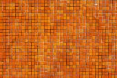 Orange Tile Wall