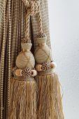 Luxury Curtain And Tassel