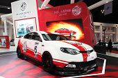 Nonthaburi - March 25: Mg Mg6 Car On Display At The 35Th Bangkok International Motor Show On March 2