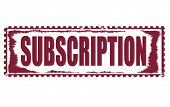 Subscription Stamp