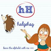 Alphabet Worksheet Of The Letter H