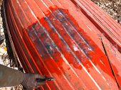 Broken Red Boat