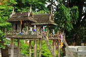 old wood shrine