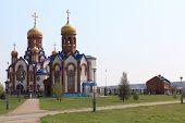 Temple of St. Seraphim Sarovskogo.Gorod Zelenogorsk