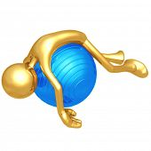 Yoga Pilates Physio Ball Fatigue