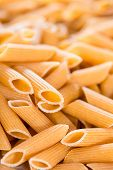 Wholemeal Penne Background