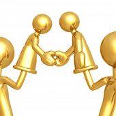 Handshake Hand Puppets