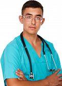 Portrait Of Medical Male Doctor