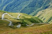 Road From Lower To Upper Svaneti,Georgia,popular Tourist Destination Among Trekkers,