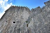 Watch Walk And Tower Of Kamerlengo Castle In Trogir, Croatia