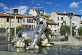 Sculpture Loch Ness Monster By Niki De Saint Phalle, French Sculptor