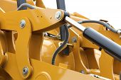 Detail Of Hydraulic Bulldozer