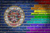 Dark Brick Wall - Lgbt Rights - Minnesota