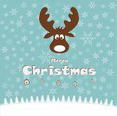 Merry Christmas, deer
