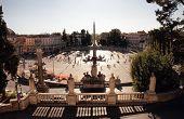 Piazza Del Popolo, Large Urban Square In Rome