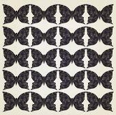 Dark Butterflies Background