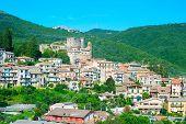 Mountains Town. Italy