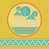 Eco Bio Home Decorative Natural Materials Embema