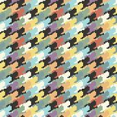 colorful houndtooth seamless pattern