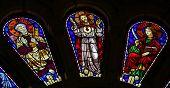 Saint Peter, Jesus Christ And Saint John The Evangelist