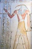 Ancient egyptian god Thoth