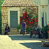 Medieval Village Idanha-a-velha, Portugal.