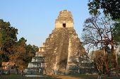 Dawn in Tikal National Park, Guatemala