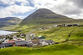 Part Of The City Of Klaksvik, Faroe Islands, North Atlantic3