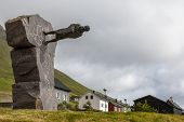 Tróndur í Gøtu,faroe Island, Denmark