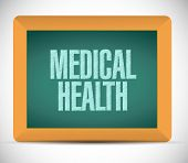 Medical Health Message Illustration Design