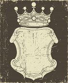Grunge Coat of Arms