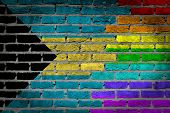 Dark Brick Wall - Lgbt Rights - Bahamas