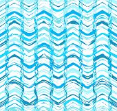 Colorful stripes seamless pattern. Abstract background with hand drawn stripes. Vector watercolor li