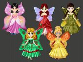 Fairy Tale Butterfly Princess