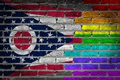 Dark Brick Wall - Lgbt Rights - Ohio