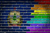 Dark Brick Wall - Lgbt Rights - Vermont