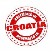 Assembled In Croatia