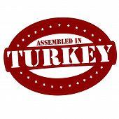 Assembled In Turkey