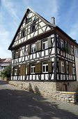 Medieval half-timbered house
