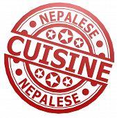 Nepalese Cuisine Stamp