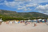 Beach in Bol Croatia