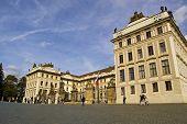 Prague Castle, entrance