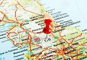 Great Britain  Map Pin