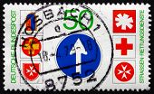 Postage Stamp Germany 1979 Emblems Of Road Rescue Services