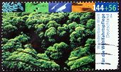 Postage Stamp Germany 2004 Tree Tops, Natural Landscape