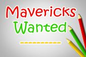 Mavericks Wanted Concept