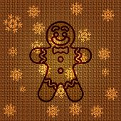 Vector Christmas Gingerbread