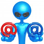 Red Or Blue Email