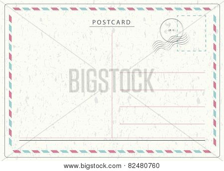 Travel Postcard Vector
